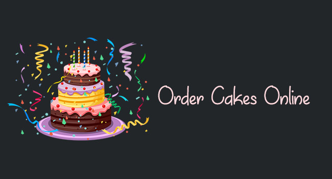Things to pay attention to when ordering a cake online